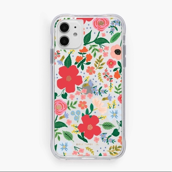 Rifle Paper Co Wild Rose iPhone Case 11 Pro, X, XS